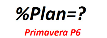 percent Plan in primavera p6
